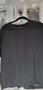 UNIQLO Black Jersey top  Large